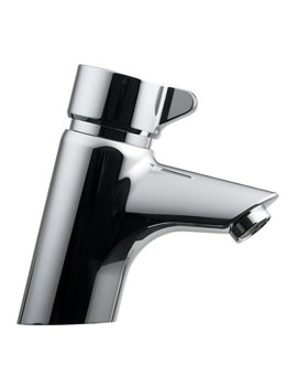 Avon 21 Self Closing 1 Tap Hole Basin Mixer Tap