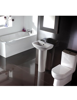 Balterley Reflection White Bathroom Suite