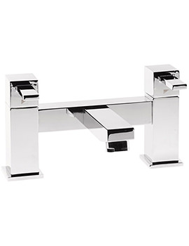 Factor Square Deck Mounted Bath Filler Tap Chrome T133202