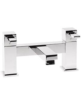 Factor Square Deck Mounted Bath Filler Tap Chrome T133202