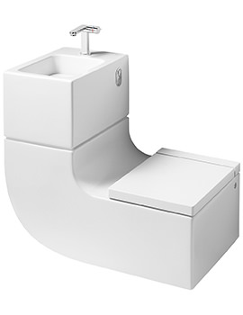 W+W Wall-hung Vitreous China WC And Basin
