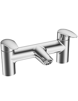 Dynamic S Deck Mounted Bath Filler Tap Chrome - A40970VUK