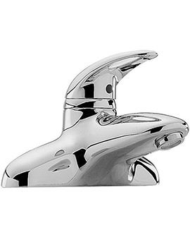 Latina Deck Mounted Bath Filler Tap Chrome - 25040