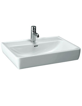 Pro A 600 x 480mm Basin With Ground Base