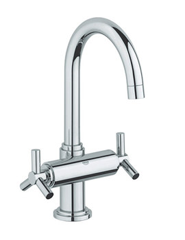 Atrio Ypsilon Basin Mixer Tap With Pop-Up Waste