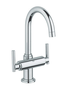 Atrio Jota Basin Mixer Tap With Pop-Up Waste - 21022000