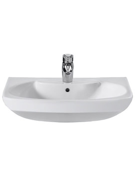Related Roca Senso Wall Hung Basin 650mm Wide With 1 Tap Hole - 327511000