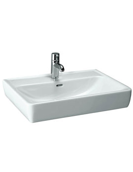 Laufen Pro A 650 x 480mm Basin With Ground Base