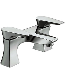 Hourglass Bath Filler Tap Chrome - HOU BF C