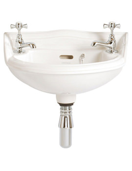 Dorchester 2 Taphole Baby Basin - PDW08