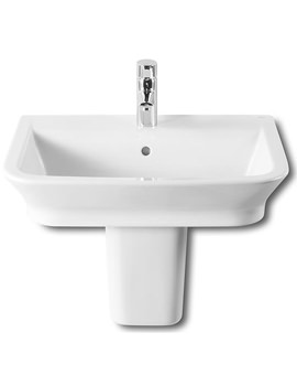 Related Roca The Gap White Basin 600 x 470mm Wide - 327474000