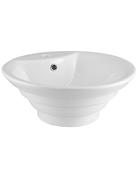 Aqva Rapture 460mm Round Counter Top Vessel Basin