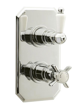 Related Ultra Beaumont Twin Concealed Thermostatic Shower Valve - A3032