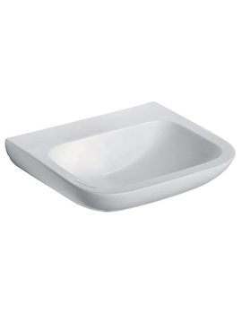Portman 21 600mm Wall Mounted Basin With No Overflow