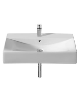 Diverta White Vanity Basin 750mm Wide - 327110000