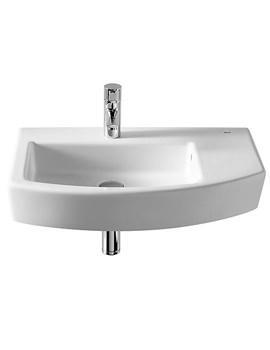 Hall Offset Asymmetrical Basin 650mm Width - 327620000