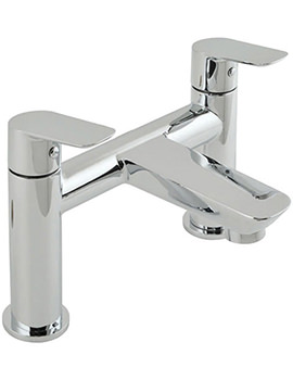 Photon Deck Mounted 2 Hole Bath Filler Tap - PHO-137