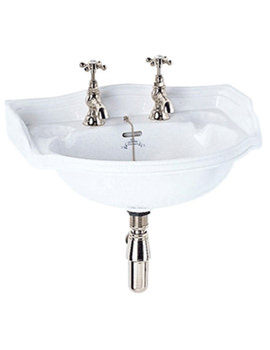 Related Imperial Oxford Cloakroom Wall Hung Basin 535mm - OX1SB11030