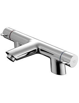 Piccolo 21 Two Hole Bath Filler Tap - B9140AA