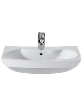 Senso Wall Hung Basin With 1 Tap Hole