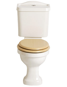 Rhyland Close Coupled WC And Portrait Cistern 670mm