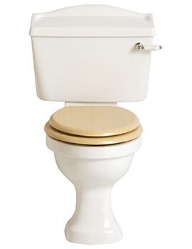 Rhyland Close Coupled WC And Cistern - PRHW00 - PRHW01F