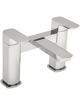 Vamp Pillar Mounted Bath Filler Tap Chrome - 43040