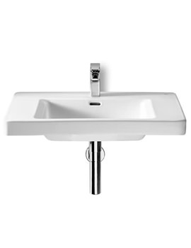 Roca Khroma Wall Hung Basin And Wall Fixing Kit 800mm Wide - 327650000