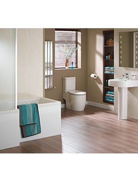 Essential Eternity Square Complete Bathroom Suite