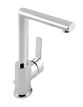 Soho Mono Basin Mixer Tap With Pop-Up Waste - SOH-100S