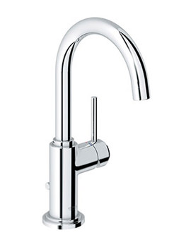 Atrio Basin Mixer Tap With Swivel C-Spout - 32042001