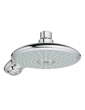 Power And Soul Contemporary Shower Head With 4 Spray Pattern