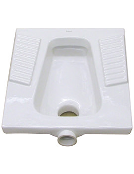 Nile Squatting WC Pan - WC3390WH