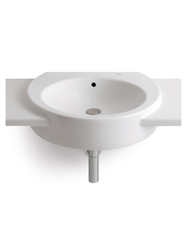 Happening Wall Hung Basin With Wings 700 x 430mm - 327564000