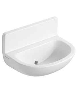 Contour 21 Upstand Splashback Washbasin 500mm NTH