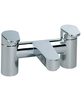 Roper Rhodes Stream Deck Mounted Bath Filler Tap Chrome - T773002