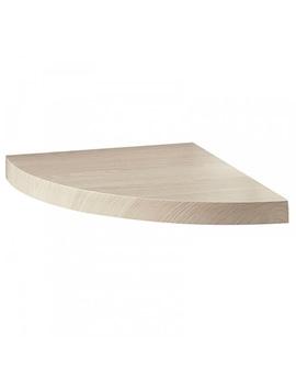 Roca Hall Left Hand Corner Shelf 275 x 365mm - 856122611