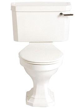 Granley Deco Close Coupled WC And Landscape Cistern 690mm