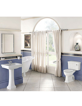 Bathroom Suite With Contemporary Basin