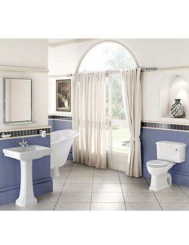 Bathroom Suite With Contemporary Basin