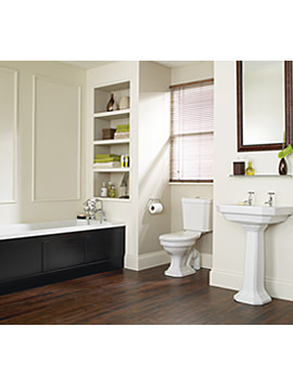 Heritage Granley Deco Traditional Bathroom Suite - Image