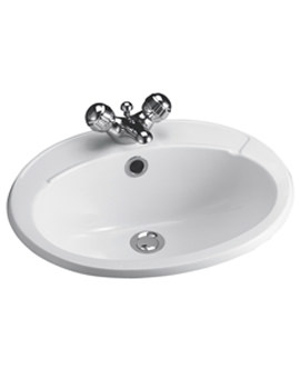 Galaxy 510mm 1 Taphole Countertop Basin - S260101