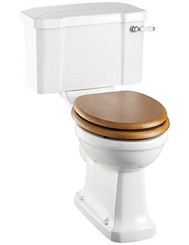 Close Coupled WC With Cistern And Ceramic Lever - P5 - C1