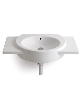 Happening Wall Hung Basin With Wings 800 x 475mm - 327561000