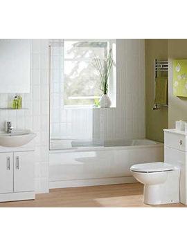 Essential Gem Bathroom Suite With Coast Bath 1700mm x 700mm