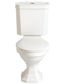Granley Deco Close Coupled WC And Portrait Cistern 700mm