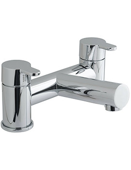 Vado Sense Deck Mounted 2 Hole Bath Filler Tap - SEN-137
