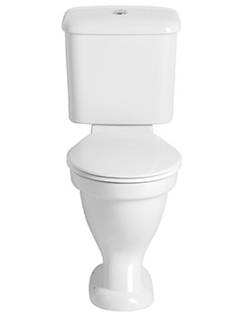 Belmonte Comfort Height WC And Portrait Cistern 710mm