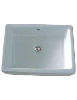 Pamela NTH Counter Top Basin 520mm - BBD Pamela