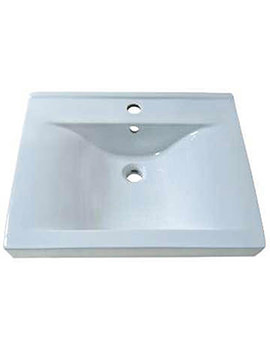 Related Aqva Lyon Square Countertop Basin 600mm - BBD Lyon 60